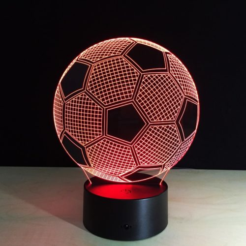 Soccer Lamp LED Changing Color Light
