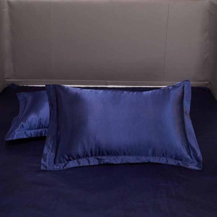 Silk Pillow Covers Satin Pillowcase (2pcs)