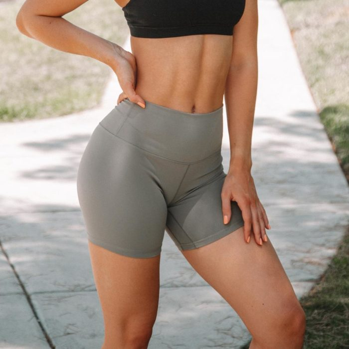 High Waisted Workout Shorts Sportswear