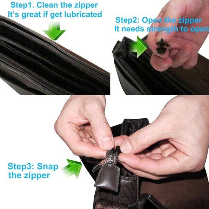 Instant Zipper Universal Slider (6/12pcs)