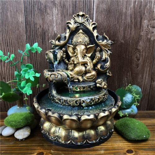Mini Water Fountain Indoor Decor