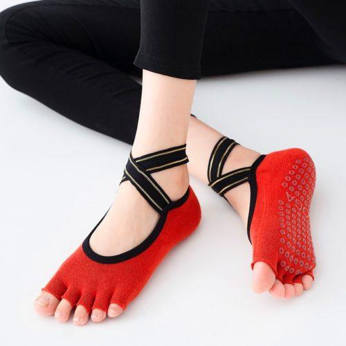 Open Toe Socks Yoga Footwear