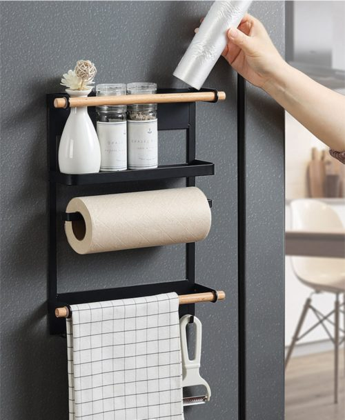 Fridge Rack Magnetic Side Organizer