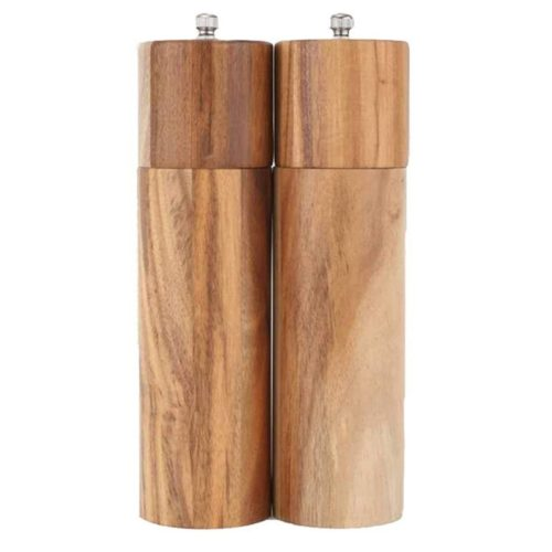 Wooden Salt and Pepper Mills (2pcs)
