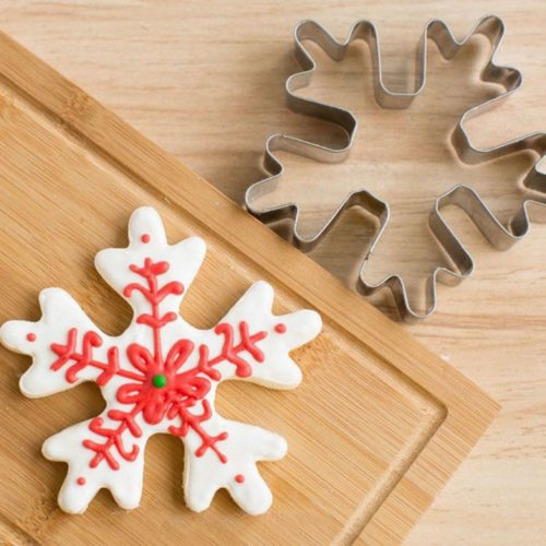 Snowflake Cookie Cutter Christmas Mold