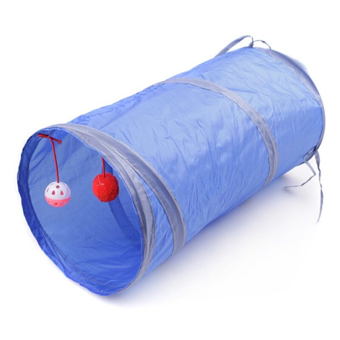 Cat Play Tunnel Foldable and Collapsible