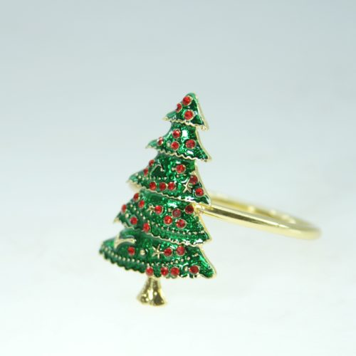 Christmas Napkin Rings (12 Pcs)