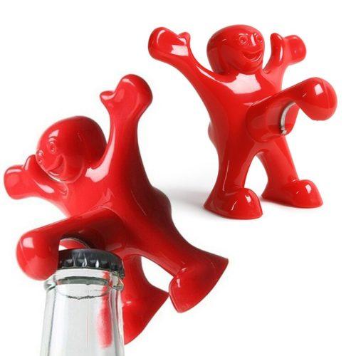 Funny Bottle Opener Red Man Design