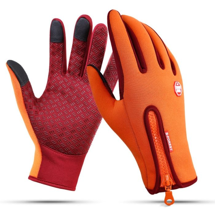 Waterproof Winter Gloves Touch Sensitive Fingertips