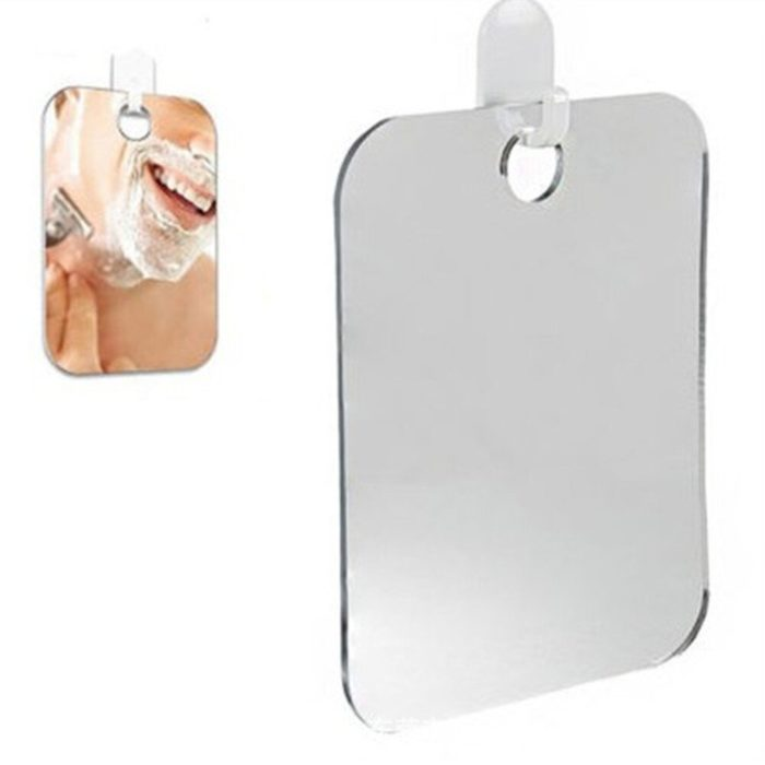 Fogless Mirror Bath Shaving Glass