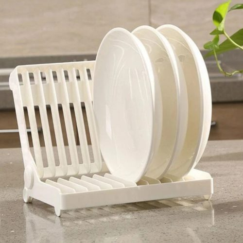 Plastic Foldable Dish Rack