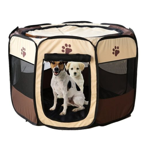 Dog Pet Playpen Portable Fence