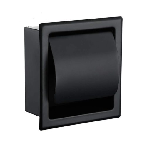Wall-Mounted Metal Toilet Paper Holder