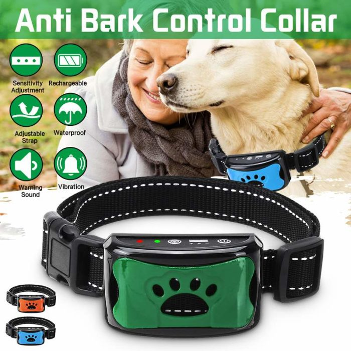 Anti Bark Dog Collar Rechargeable Collar