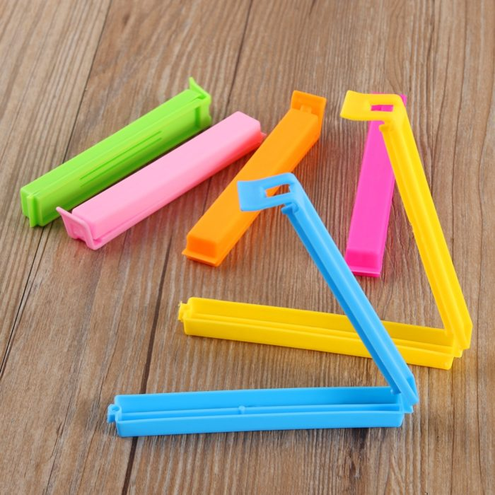 Clips For Food Bags Sealing Bag Clips (10Pcs.)