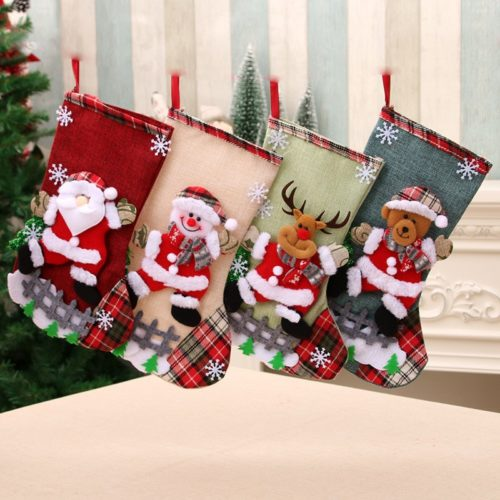 Christmas Sock Decoration Cute Xmas Stocking