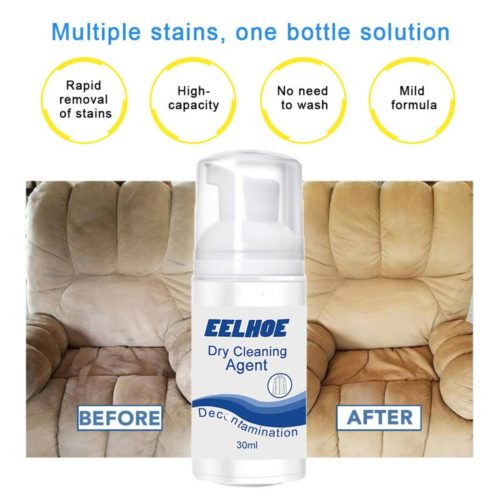 Couch Stain Remover Dry Cleaning Agent