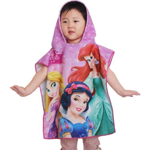 Kids Beach Towel with Hood