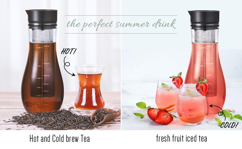 Cold Brew Coffee Maker 1500ml Pot