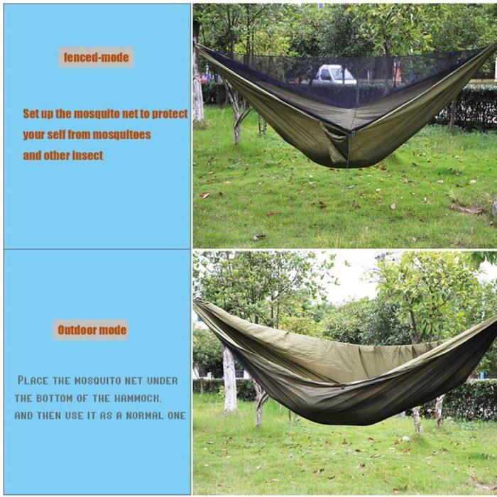 Travel Hammock with Mosquito Net Set