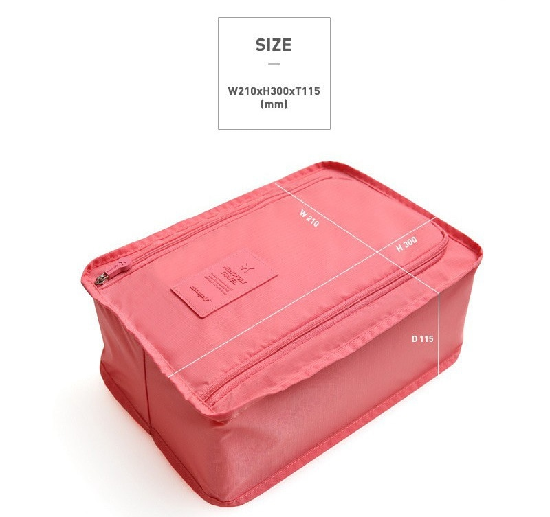 Convenient Travel Storage Bag Nylon 6 Colors Portable Organizer Bags Shoe Sorting Pouch multifunction Shoes Bag