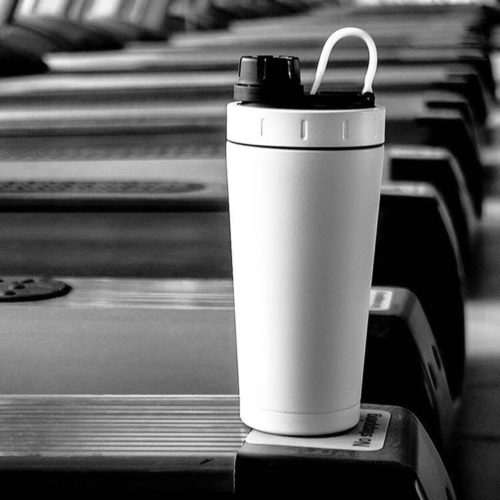 Insulated Shaker Bottle 20oz Protein Shaker
