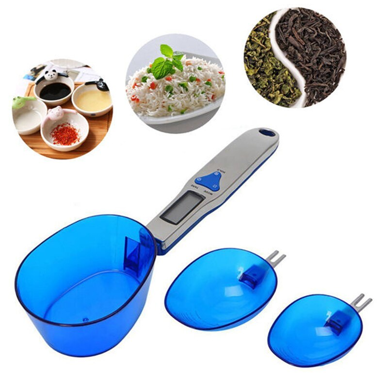 Household Electronic Weighing Measuring Scale Digital Scale Spoon Display Kitchen Spoon Scale Measuring Spoon For Kitchen