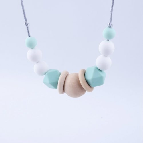 Silicone Baby Teether Necklace