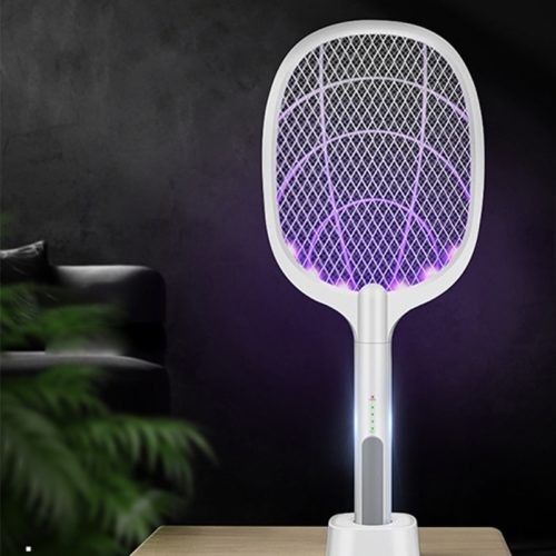 Electric Bug Zapper Racket Lamp