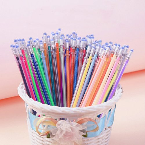 Multi-colored Gel Pen Refills (100 Pcs)