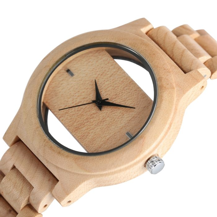 Unisex Wooden Wristwatch