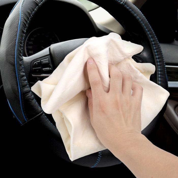 Suede Car Washcloth Towel