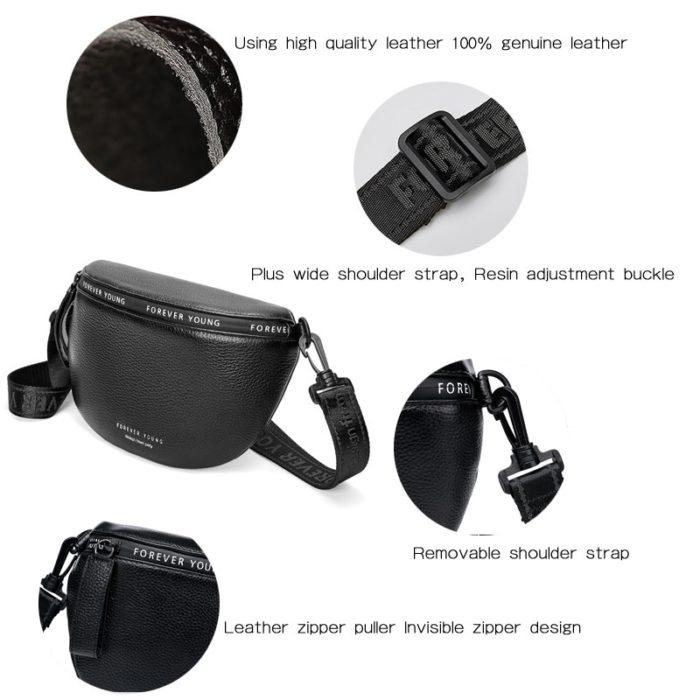 Ladies Cross Body Bag Leather Bag