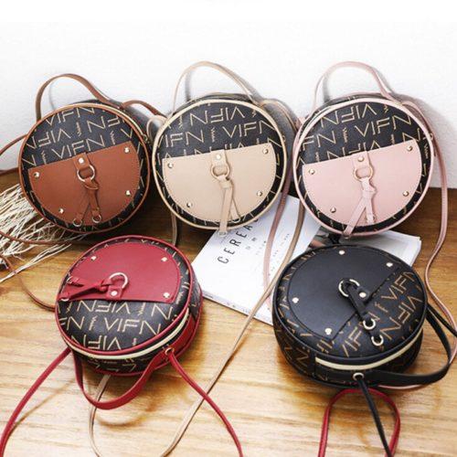 Women's Round Sling Bag