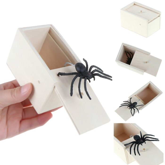 Spider Prank Box Gag Toy