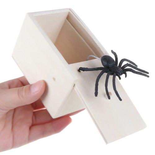 Spider Prank Box Gag Toy