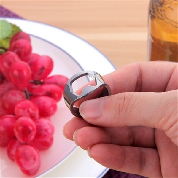 Ring Beer Openers Stainless Set (3pcs)