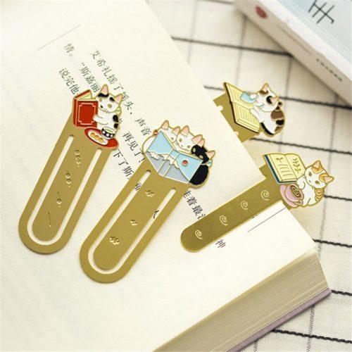 Bookmark Clip Cute Metal Bookmark