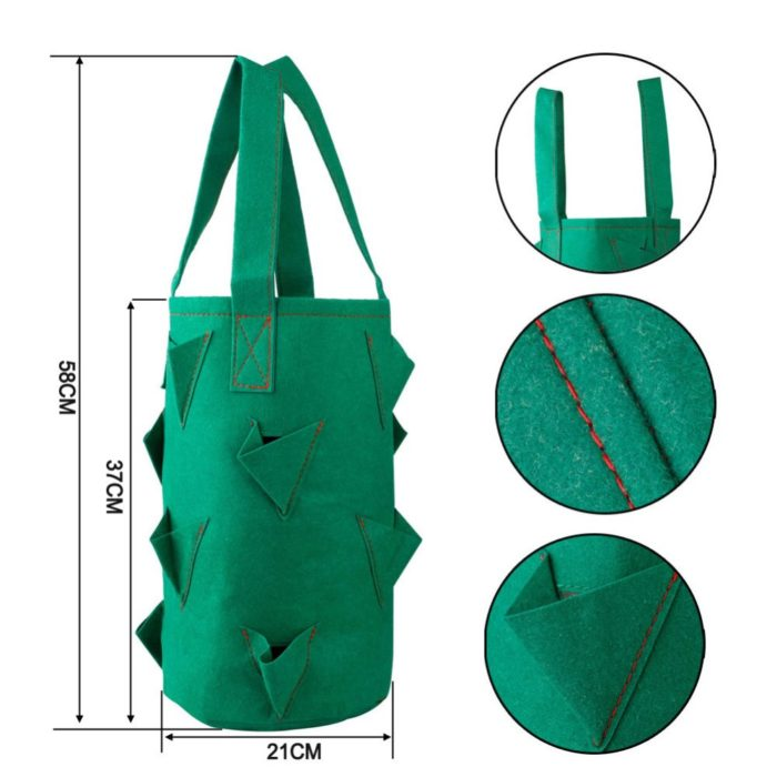 Strawberry Planter 11-Hole Plant Bag