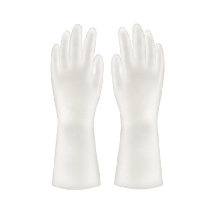 Kitchen Rubber Gloves Dishwashing Latex