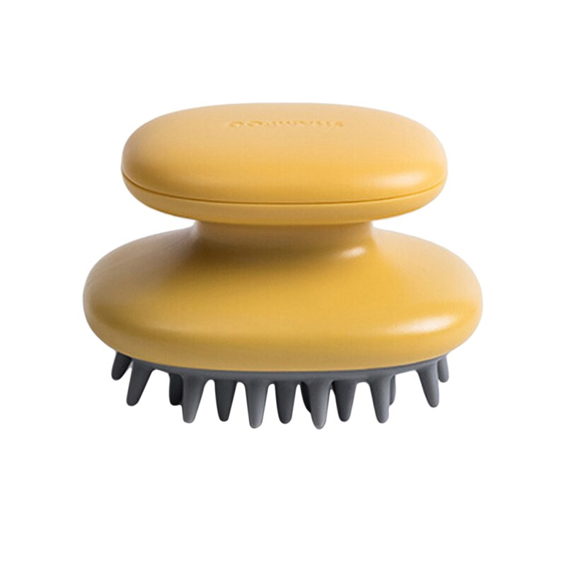 Handheld ABS Scalp Shampoo Massage Brush Washing Shower Hair Comb Mini Head Meridian Massage Comb