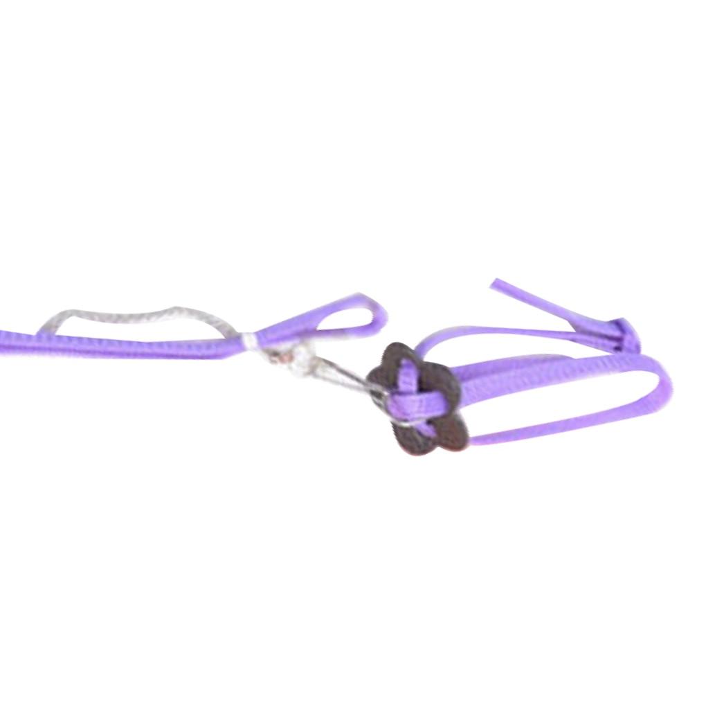 Nylon Pet Harness Leash For Hamster Adjustable Ferret Rat Mouse Bunny Harnesses Vest Lead Rope Leash Guinea Pig Pet Accessories