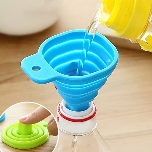 Silicone Funnel Collapsible Tool