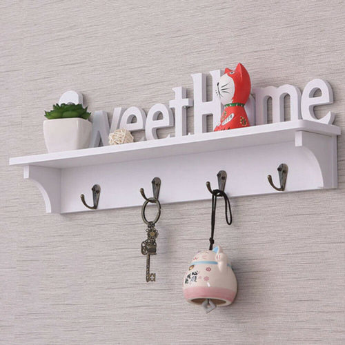 Wall Mounted Key Holder Home Organizer
