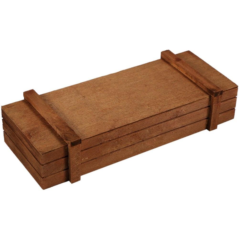 Indoor/Outdoor Wooden Herb Flower Pots Succulent Planter Box Home Garden Rectangle Storage box