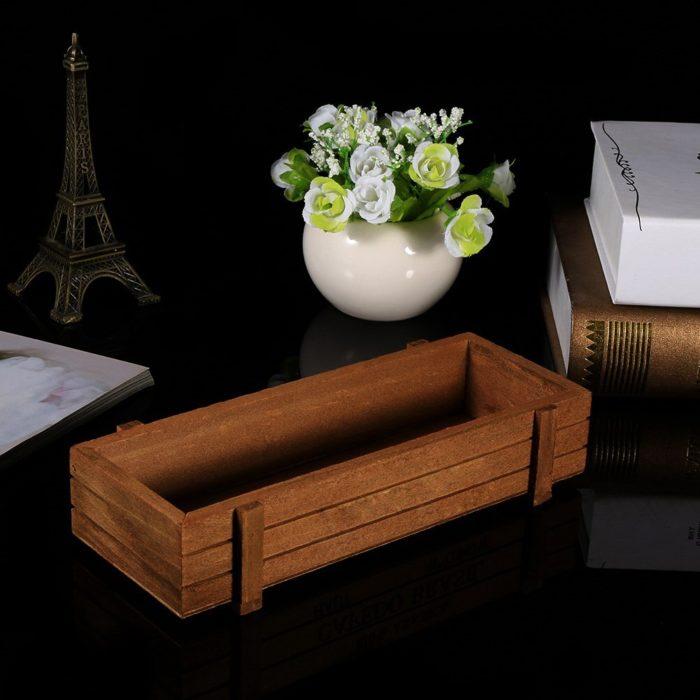 Wooden Herb Planter Gardening Box