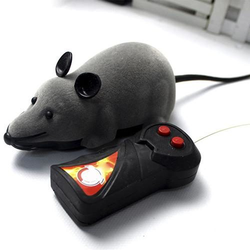 Remote Control Rat Prank Toy