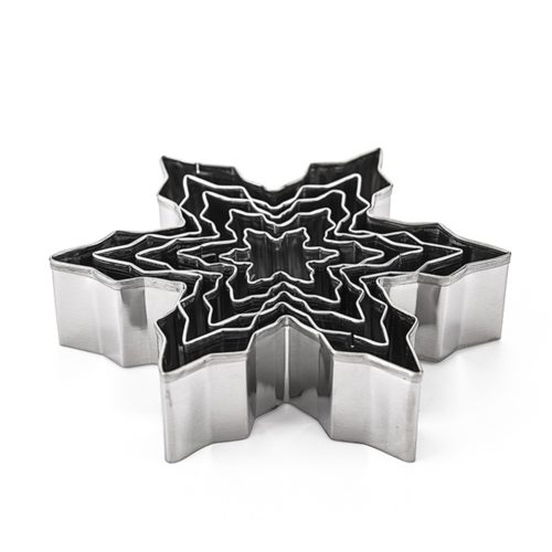Snowflake Cookie Cutters 5-Piece Set