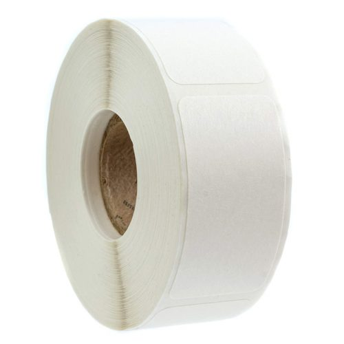 Blank Label Sticker Paper Roll (500pcs)