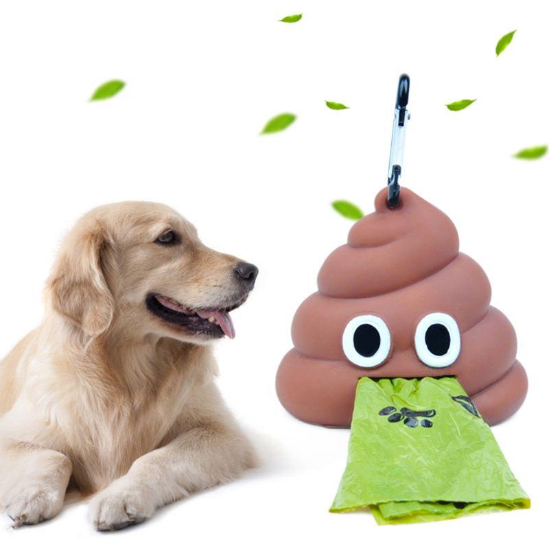 Outdoor Portable Waste Bag Dispenser Carrier Dog Poop Bag Holder Storage Box Pet Waste Bags Garbage Bag